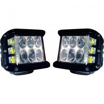 2 FAROL LED 24W 9-32V 1680Lm