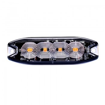 BARRA PEQ 4 LED 12/24V