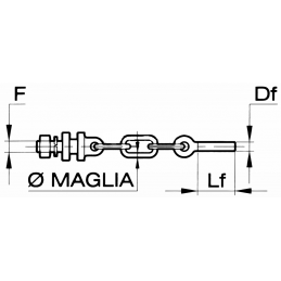 MEIA CORRENTE M20X2.5 SX...