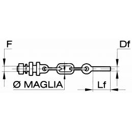 MEIA CORRENTE M20X2,5 DX...