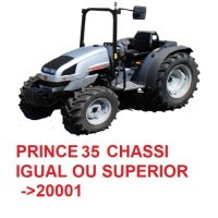 PRINCE 35 TIER III 3 CHASSI IGUAL OU SUPERIOR Nº 20001