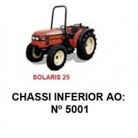 SOLARIS 25 CHASSI INFERIOR Nº5001