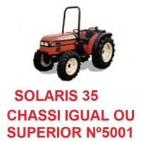 SOLARIS 35 CHASSI IGUAL OU SUPERIOR Nº5001