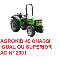 AGROKID CHASSI IGUAL OU SUPERIOR 2001