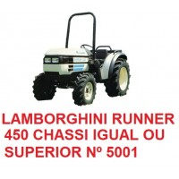 RUNNER 450 CHASSI IGUAL OU SUPERIOR Nº 5001
