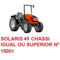SOLARIS 45 CHASSI IGUAL OU SUPERIOR Nº 15001