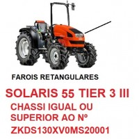 SOLARIS 55 TIER 3 III CHASSI IGUAL OU SUPERIOR  ZKDS130XV0MS20001