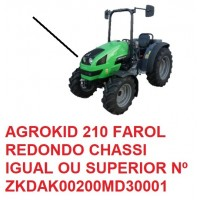 AGROKID 210 TIER 3 CHASSI IGUAL OU SUPERIOR Nº ZKDAK00200MD3001